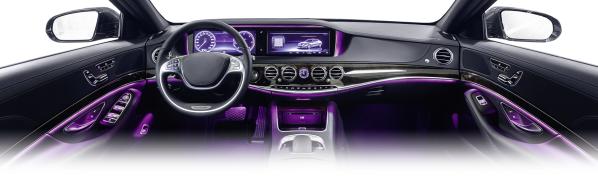 汽车内部照明:亮度,色度,照度分布,以及座舱眩光(ugr)